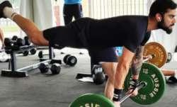Virat Kohli sweats it out at gym