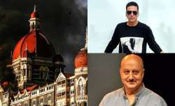 Akshay Kumar, Anupam Kher pay tribute to martyrs, victims of Mumbai Terror Attack.
