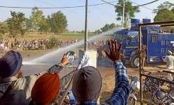 farmers clash