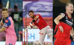 Steve Smith, Glenn Maxwell and Chris Morris