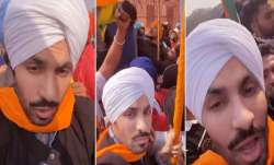 Deep Sidhu, Deep Sidhu facebook live, Deep Sidhu red fort, Deep Sidhu fb red fort video,