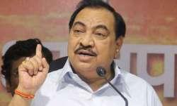 NCP leader Eknath Khadse
