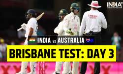 Live India vs Australia 4th Test Day 3: Follow live updates