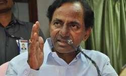 Telangana Chief Minister K. Chandrasekhar Rao