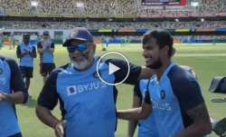 t natarajan, washington sundar, india vs australia, ind vs aus, ind vs aus 2020