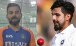 Virat Kohli and Ishant Sharma