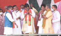 Mithun Chakraborty joins BJP