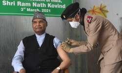 kovind vaccine shot