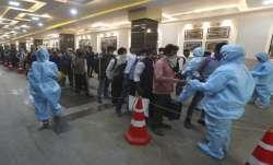Maharashtra records nearly 10,000 cases on Tuesday.