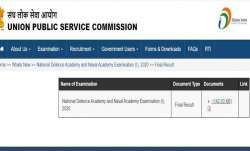 UPSC NDA and Naval Academy Results 2020 declared