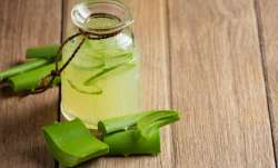 Drink aloe vera juice on empty stomach in the morning