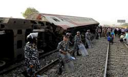 Passenger train derails in Egypt; some 100 injured
