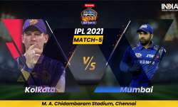 Live Cricket Score, Match 5, KKR vs MI: Follow Live score and updates from Chennai
