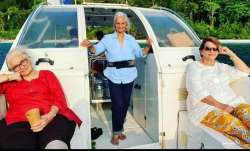 Waheeda Rehman, Asha Parekh and Helen recreate Dil Chahta Hai moments in latest pics from Andaman