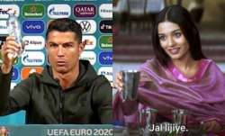 After Cristiano Ronaldo puts aside Coca-Cola bottles, netizens flood Twitter with hilarious memes