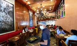 Dine-in facilities were barred in Delhi since April 17,