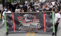 Juneteenth, end of slavery, juneteenth marked across United States, george floyd death, police killi
