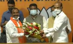 Former Telangana minister Eatala Rajender joined BJP on