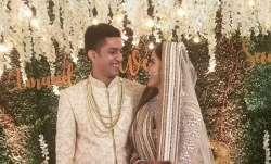 Sana Sayyad and Imaad Shamsi wedding