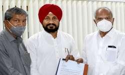 charanjit singh channi to take oath as new punjab cm
