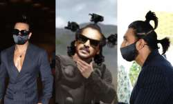 Ranveer Singh's bare chest and two ponytail look invites meme fest on Twitter