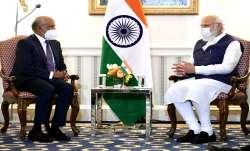 PM Modi meets Adobe Systems CEO Shantanu Narayen in
