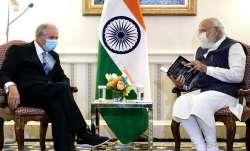 PM Modi meets Blackstone group CEO in Washington D.C.