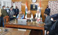 Amit Shah in Jammu and Kashmir
