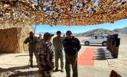 Indian Air Force, IAF Chief VR Chaudhari, IAF Chief news, operational preparedness, air Force, Ladak