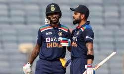 Virat Kohli imitates Shikhar Dhawan's batting style; posts video on his Twitter profile