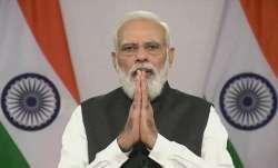 100 crore covid vaccination doses, Prime Minister narendra Modi, pm modi veiled attack on Opposition