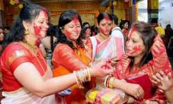 Durga Puja 2021: Know about Sindoor Khela ceremony, history, significance and much more