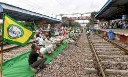 rail roko, lakhimpur violence, rail roko agitation, rail roko, rail roko agitation, rail roko protes