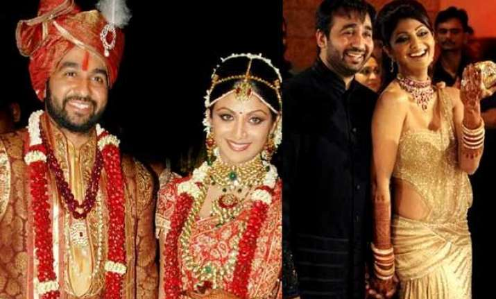 Shilpa Shetty Raj Kundra Wedding Album Indiatv News Bollywood