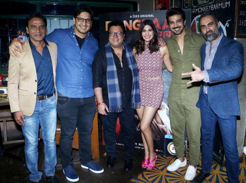 PICS: Celebs Saqib Saleem, Aahana Kumra, Ranvir Shorey, Rhea