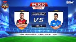Live Streaming Hotstar live cricket match today online, SRH vs DC Live Streaming, IPL 2020 Live Cric