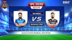 Live IPL Match MI vs RCB Stream: Live Match How to Watch IPL 2020 Streaming on Hotstar, Star Sports