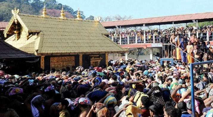 Entry of women into Sabarimala temple